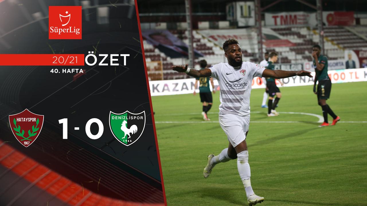 Atakaş Hatayspor Denizlispor maç özeti