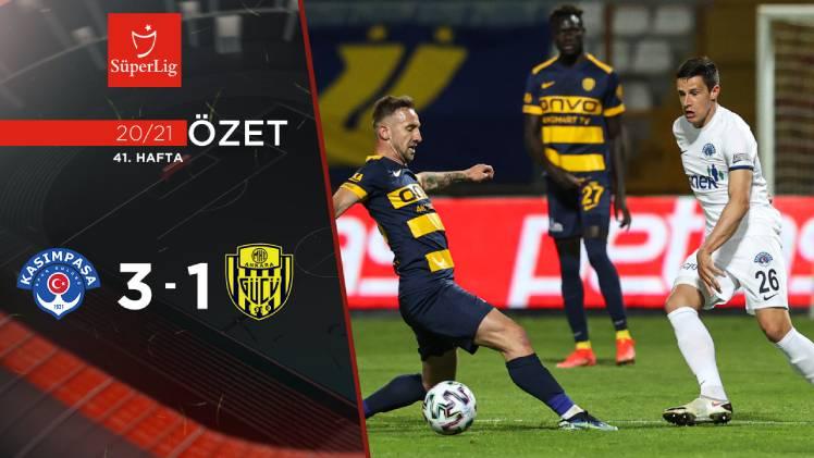 Kasımpaşa MKE Ankaragücü maç özeti