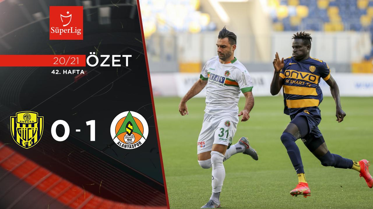 MKE Ankaragücü Alanyaspor maç özeti