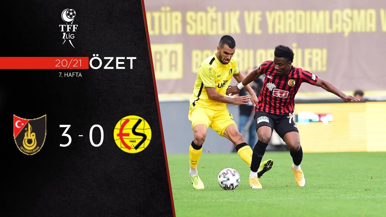 İstanbulspor Eskişehirspor maç özeti