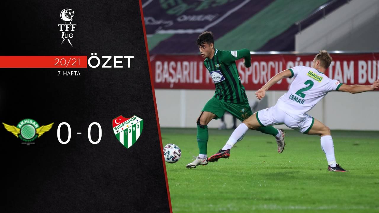 Akhisarspor Bursaspor maç özeti