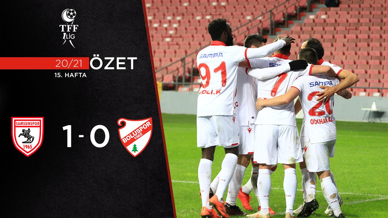 Yılport Samsunspor Beypiliç Boluspor maç özeti
