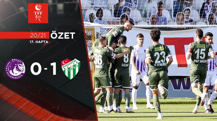 Ankara Keçiörengücü Bursaspor maç özeti