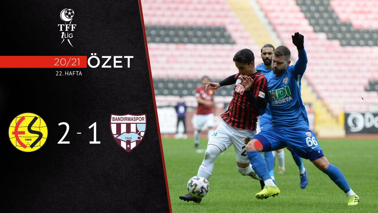 Eskişehirspor Royal Hastanesi Bandırmaspor maç özeti