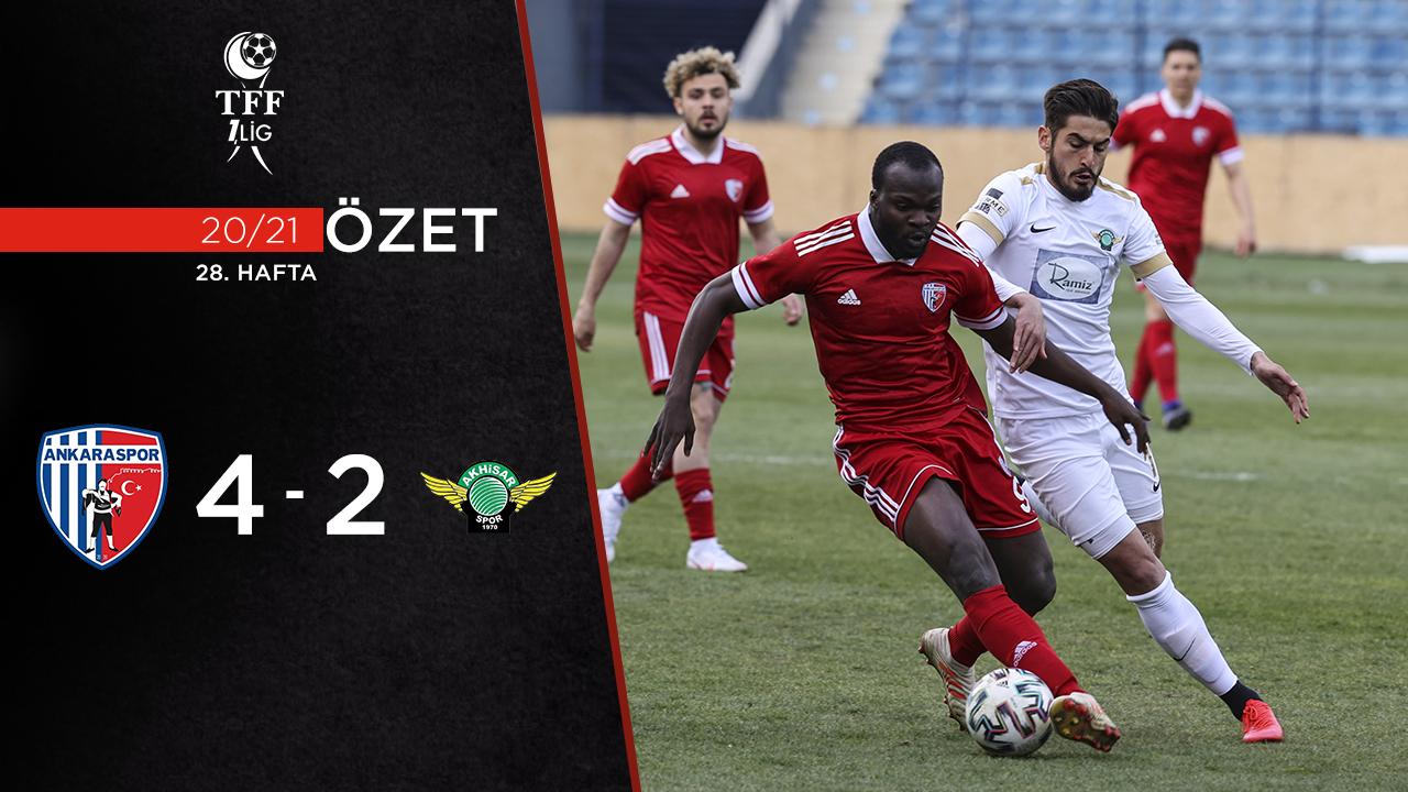 Ankaraspor Akhisarspor maç özeti