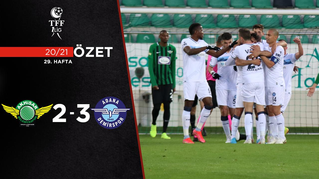Akhisarspor Adana Demirspor maç özeti