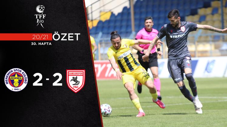 Menemenspor Yılport Samsunspor maç özeti