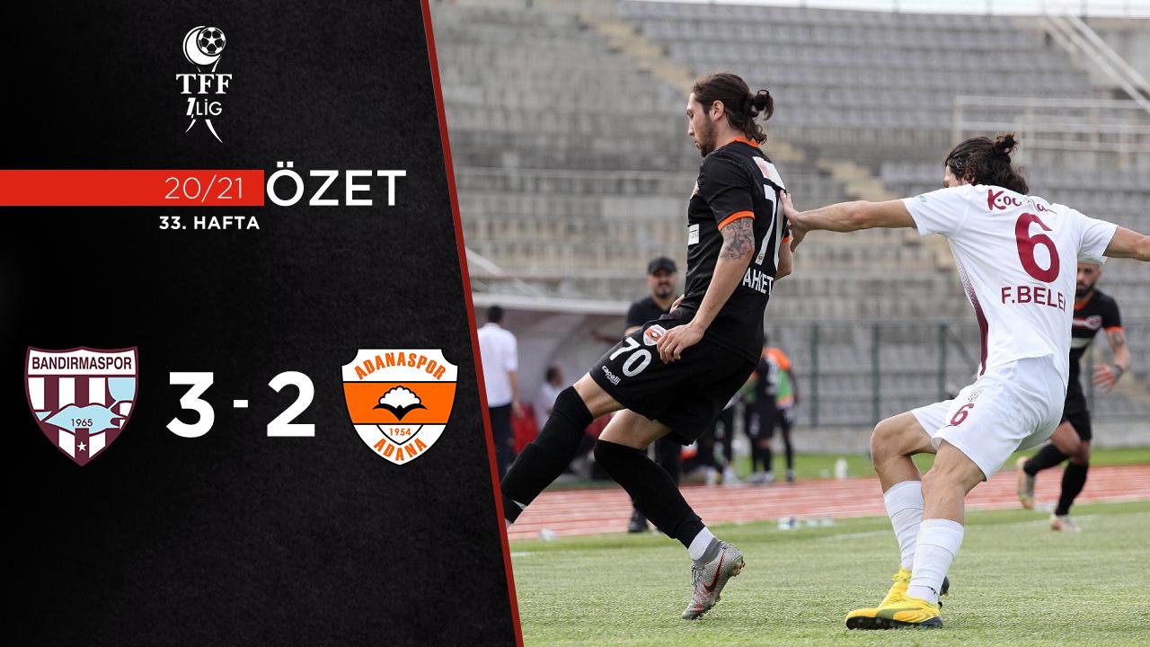 Royal Hastanesi Bandırmaspor Adanaspor maç özeti