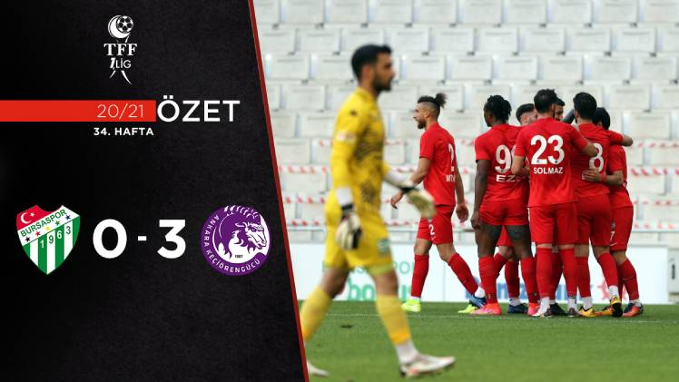 Bursaspor Ankara Keçiörengücü maç özeti