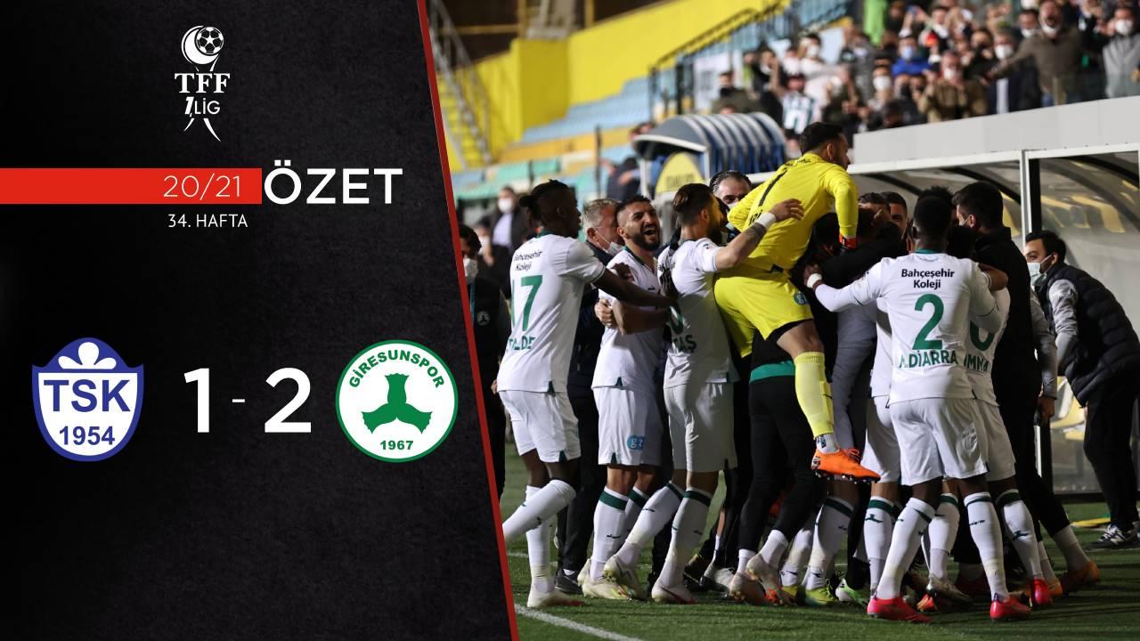 Tuzlaspor Giresunspor maç özeti