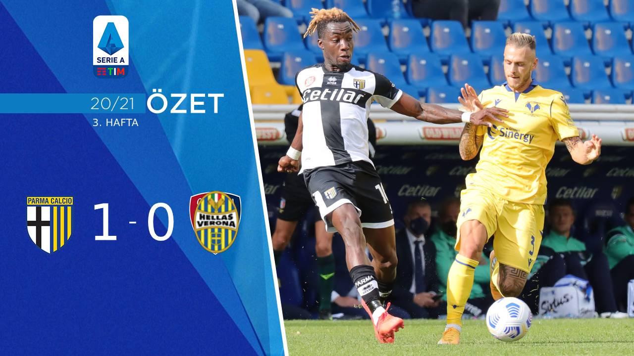 Parma Hellas Verona maç özeti