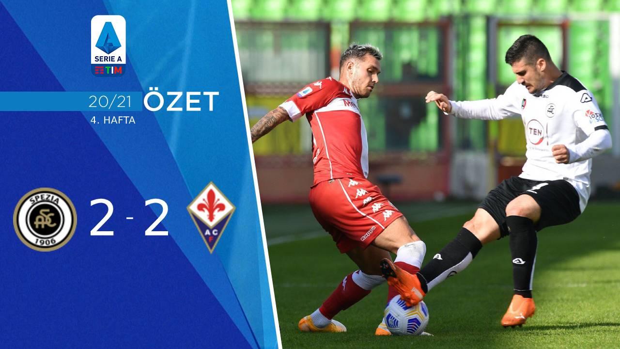 Spezia Fiorentina maç özeti