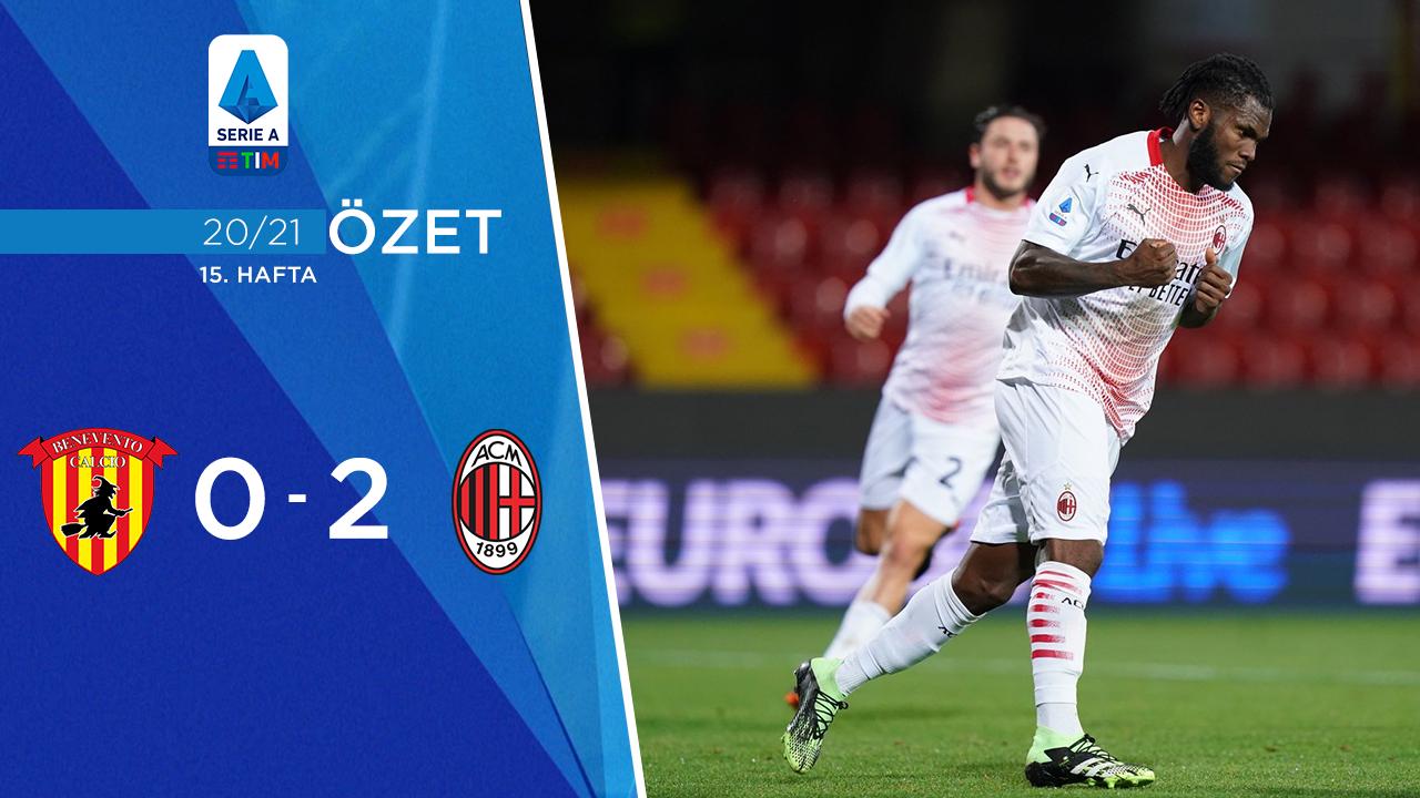 Benevento Milan maç özeti