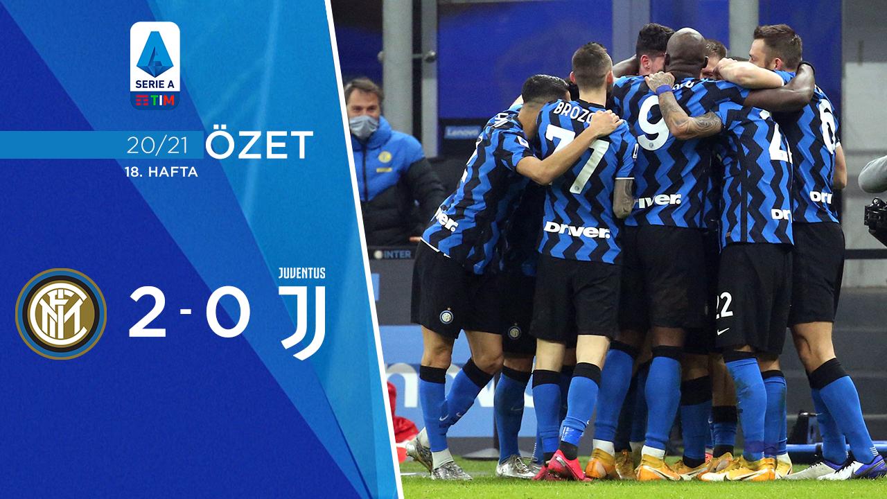 Inter Juventus maç özeti
