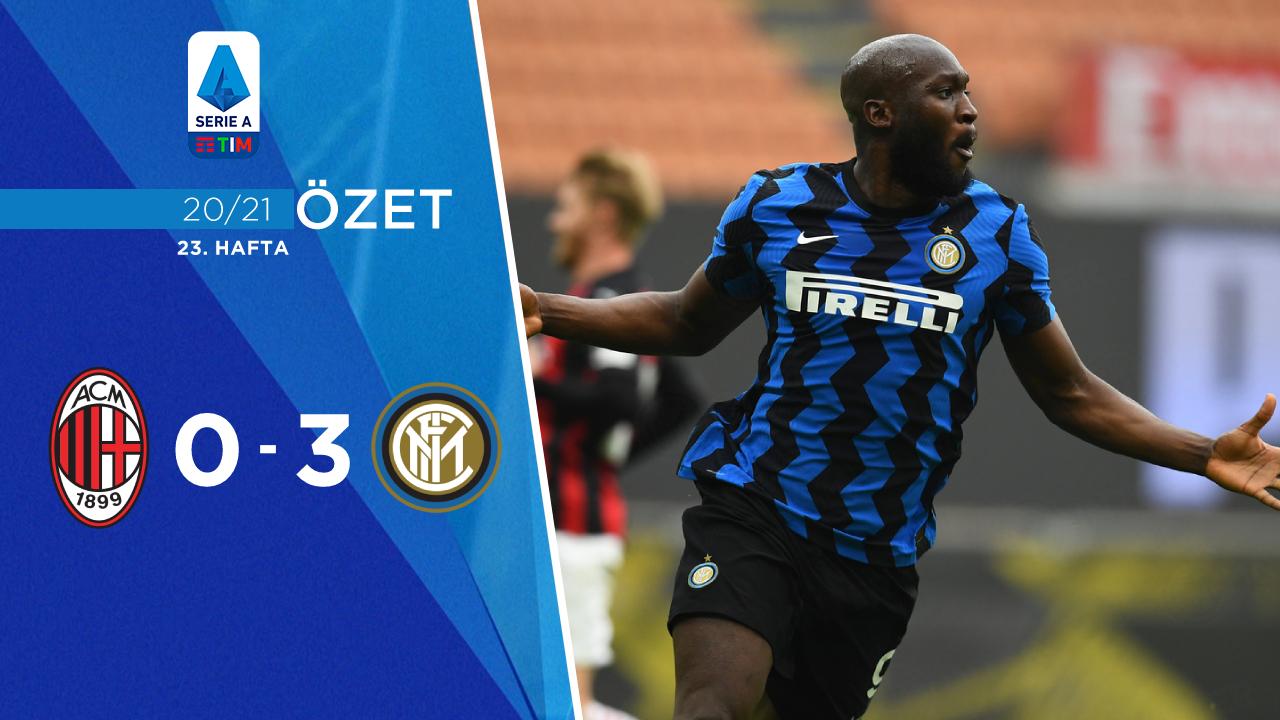 Milan Inter maç özeti