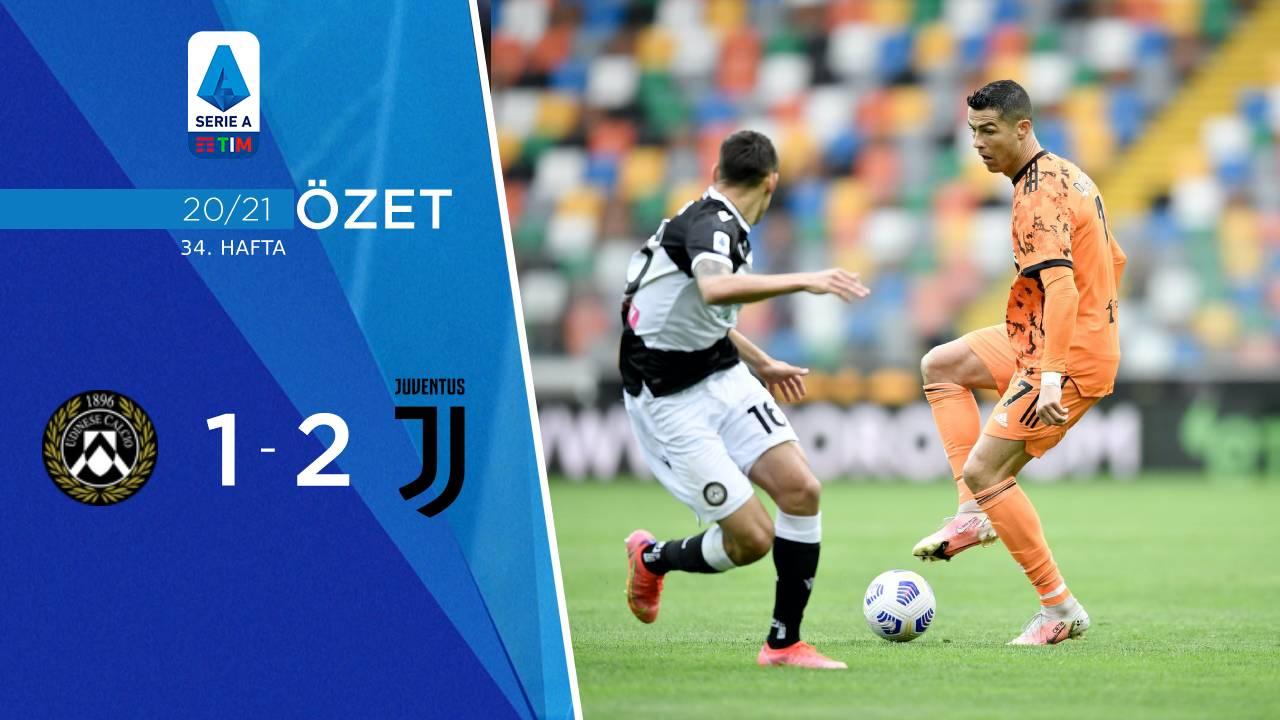 Udinese Juventus maç özeti