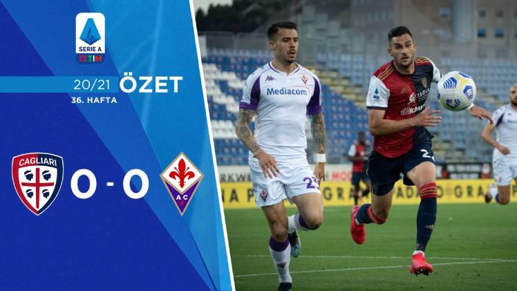 Cagliari Fiorentina maç özeti