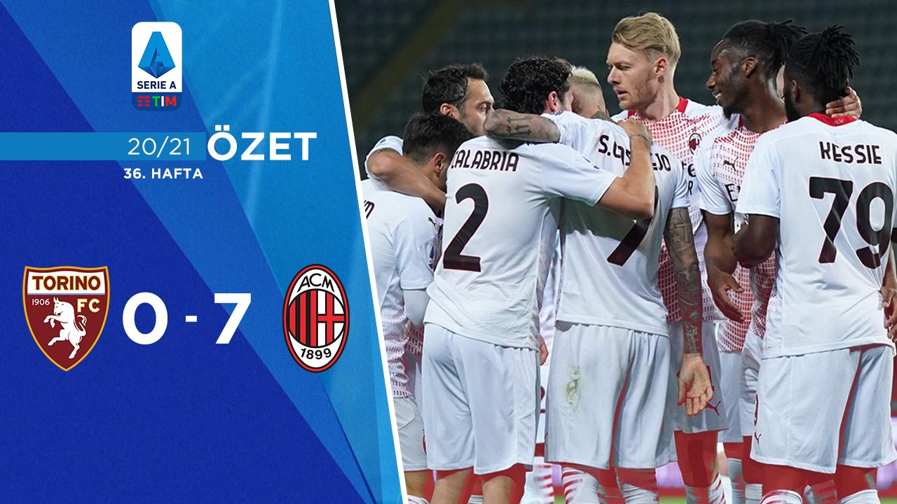 Torino Milan maç özeti