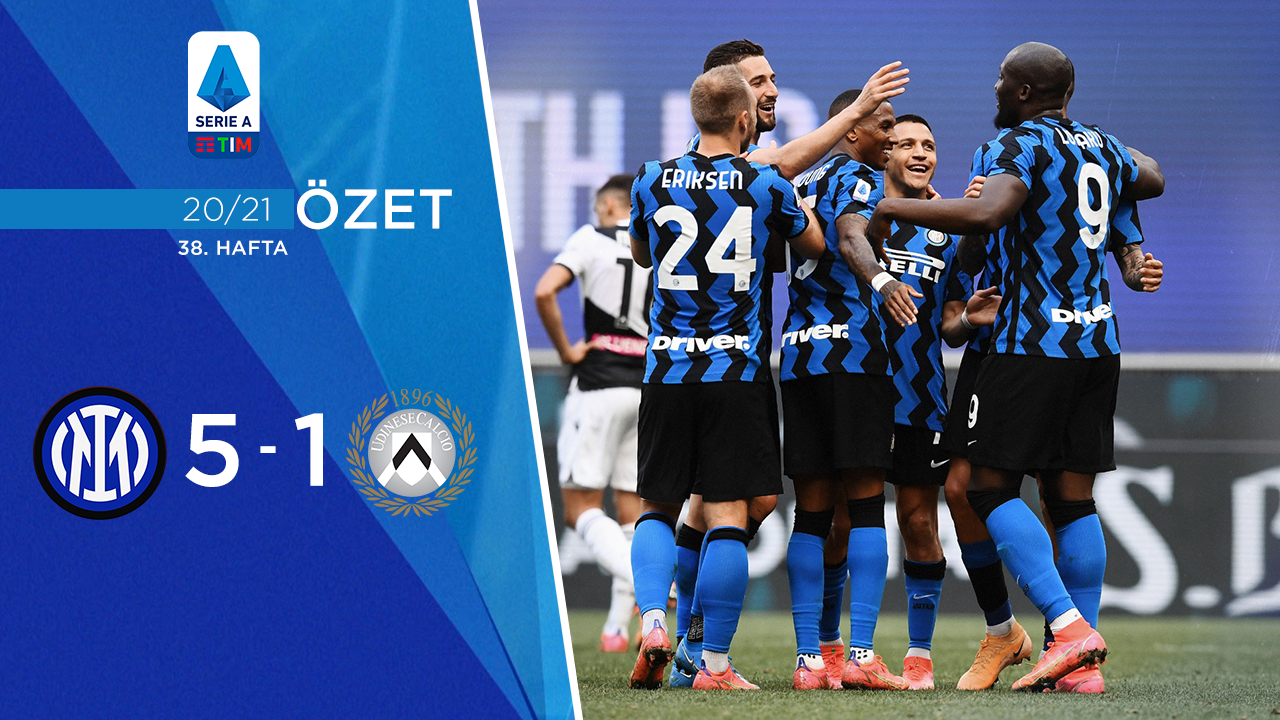 Inter Udinese maç özeti