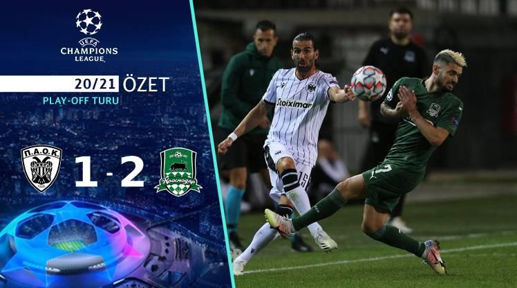 PAOK FC Krasnodar maç özeti