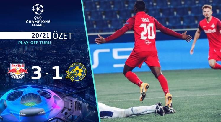 Red Bull Salzburg Maccabi Tel Aviv maç özeti