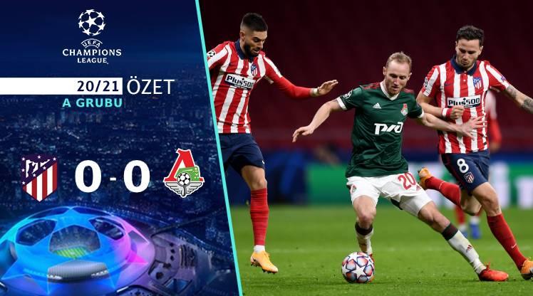 Atletico Madrid Lokomotiv Moskova maç özeti