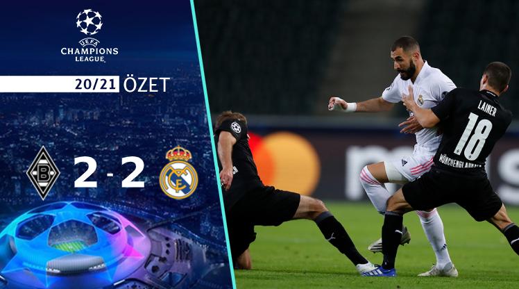M'gladbach Real Madrid maç özeti
