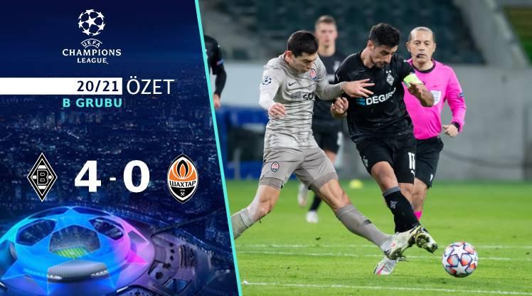 M'gladbach Shakhtar Donetsk maç özeti