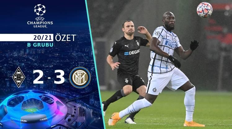 M'gladbach Inter maç özeti