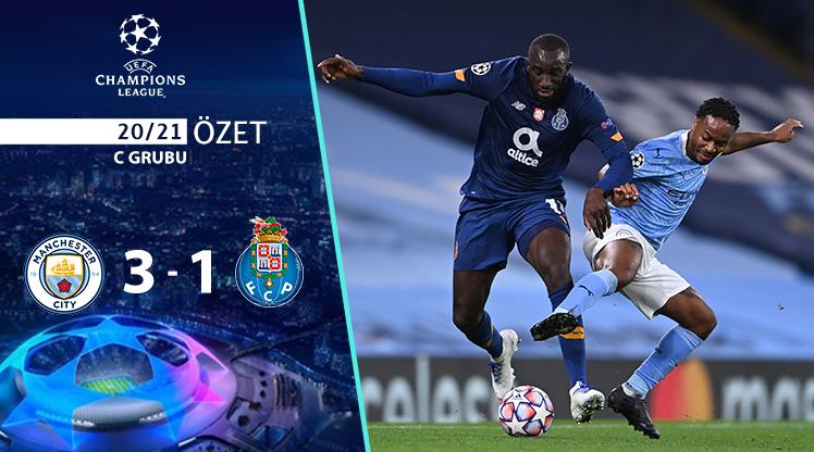 Manchester City Porto maç özeti