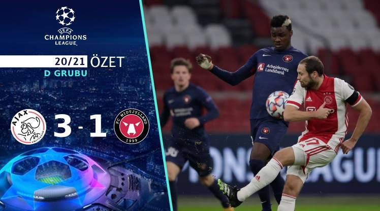 Ajax FC Midtjylland maç özeti