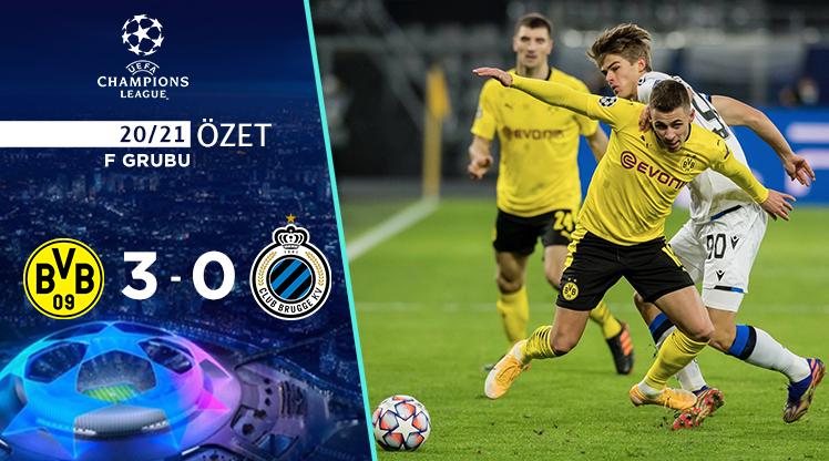 Borussia Dortmund Club Brugge maç özeti