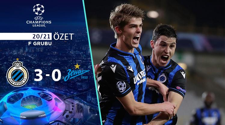 Club Brugge Zenit maç özeti