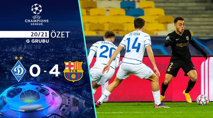 Dinamo Kiev Barcelona maç özeti