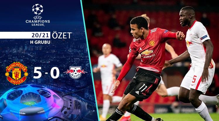 Manchester United RB Leipzig maç özeti