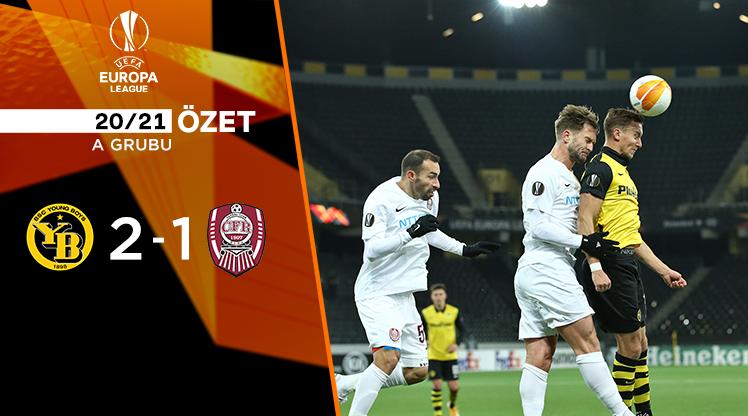 Young Boys CFR Cluj maç özeti