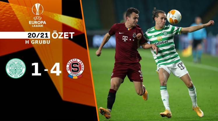 Celtic Sparta Prag maç özeti