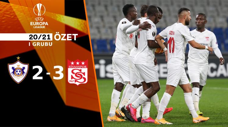 Karabağ Demir Grup Sivasspor maç özeti