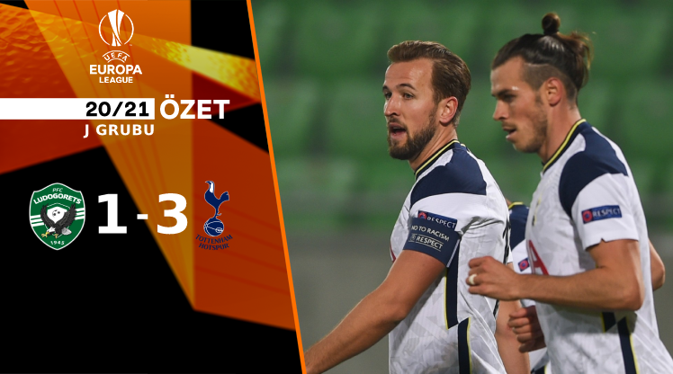 Ludogorets Razgrad Tottenham Hotspur maç özeti