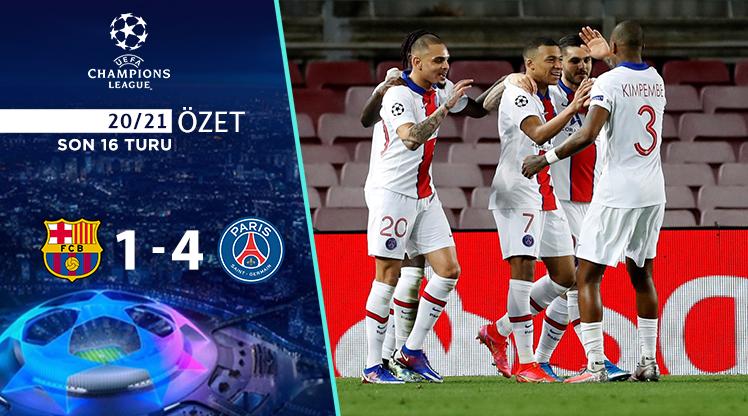 Barcelona Paris St Germain maç özeti