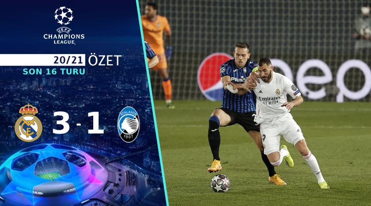 Real Madrid Atalanta maç özeti