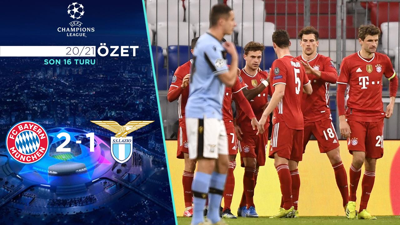 Bayern Münih Lazio maç özeti