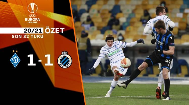 Dinamo Kiev Club Brugge maç özeti