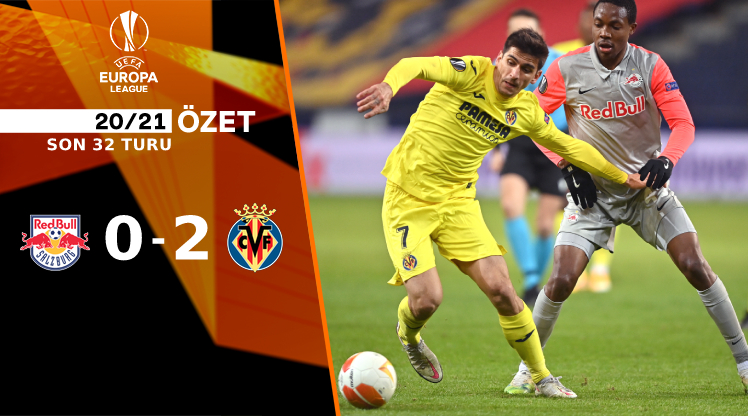 Red Bull Salzburg Villarreal maç özeti