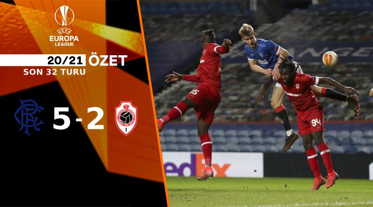 Rangers FC Antwerp maç özeti