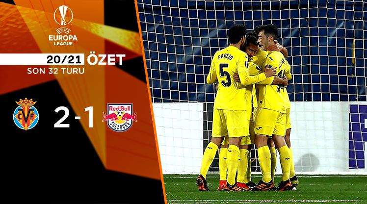 Villarreal Red Bull Salzburg maç özeti