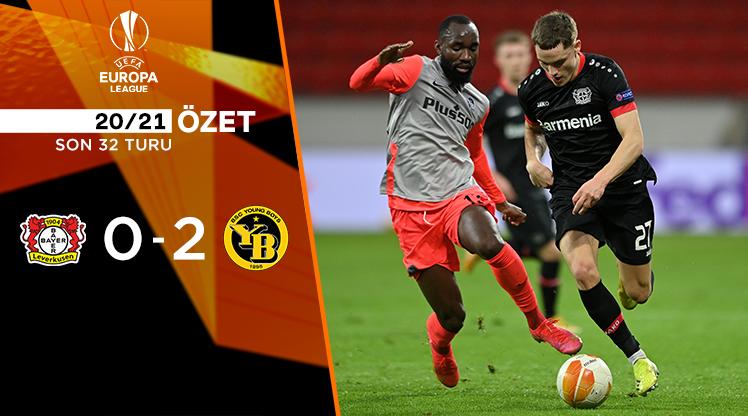 Bayer Leverkusen Young Boys maç özeti