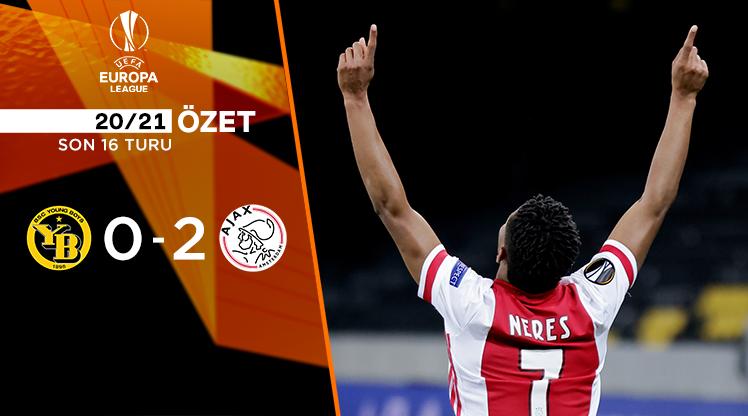 Young Boys Ajax maç özeti