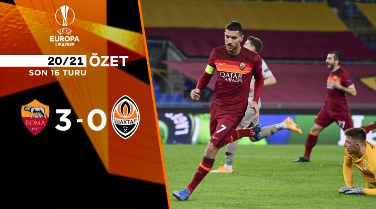 Roma Shakhtar Donetsk maç özeti