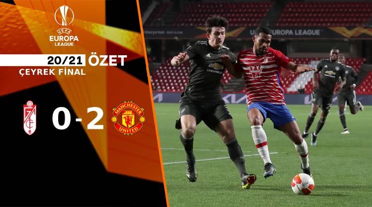 Granada Manchester United maç özeti